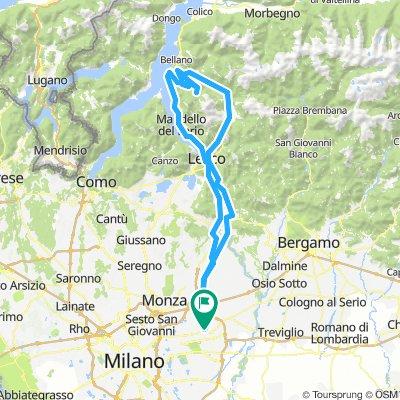 Gorgonzola - Cainallo - Valsassina