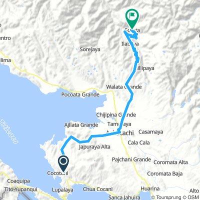 2 days: Tiquina to Sorata (via Achacachi), Bolivia