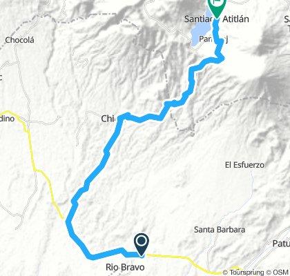 Rio Bravo - Santiago Atitlán