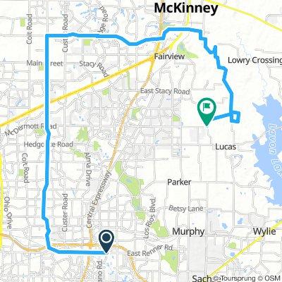1/3 75 MILE ROUTE