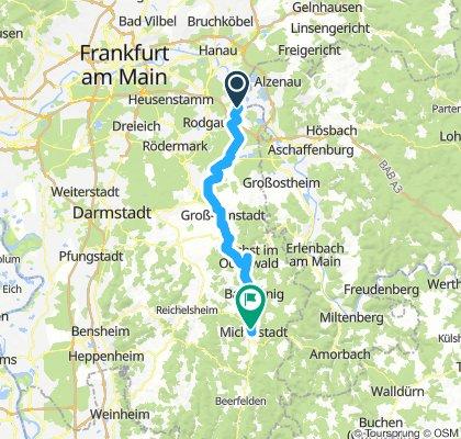 Seligenstadt - Michelstadt