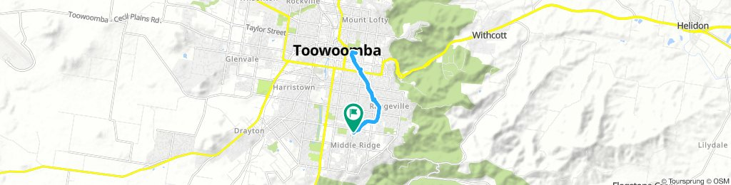 Easy Saturday Track In Middle Ridge