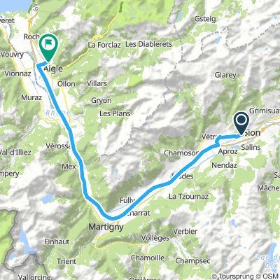 Long Samstag Route In Sion