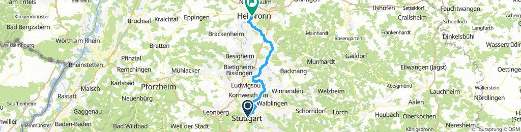 Stuttgart-Heilbronn Skating