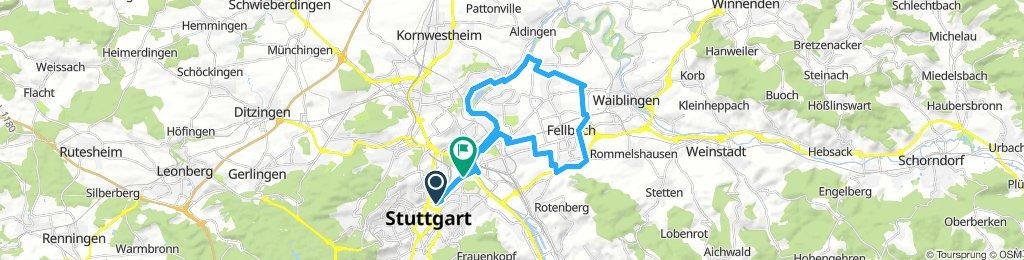 Stuttgart-Schlossgarten-Fellbach Skating