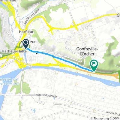 Slow Samedi Course In Harfleur