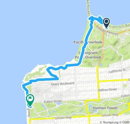 Long Morning Course In San Francisco