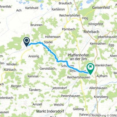 (3) Schrobenhausen - Paunzhausen