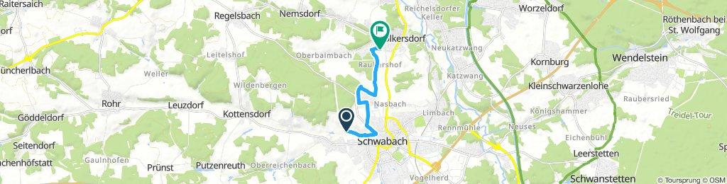 Moderate Sonntag Track In Schwabach