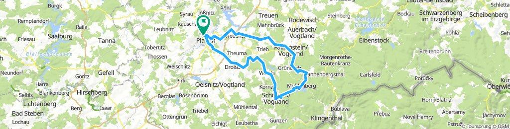 Plauen-Schöneck und zurück