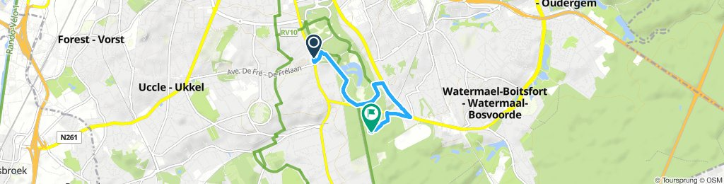 Quick Afternoon Ride In Uccle