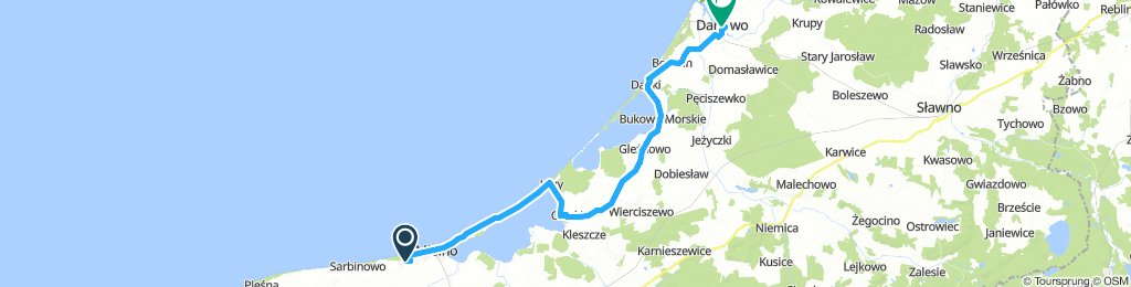 8 ) Mielnko - Darlowo (42 Km)