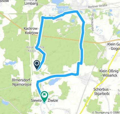 Extensive Sonntag Route Kolkwitz