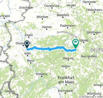 Fahrt nach Bad Zwesten