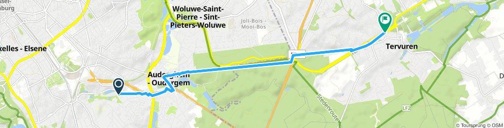 Tervueren Park- easy route