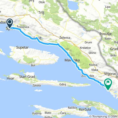Day 5 - Split to Gradac