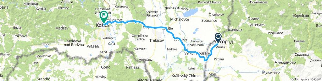 Uzhgorod - Koshice Ride [first day]
