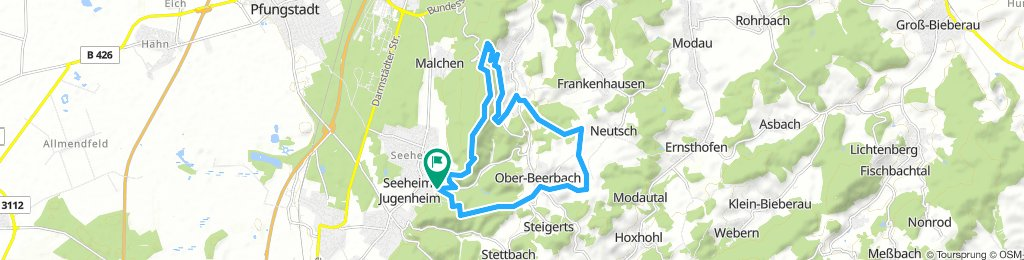 Rundtour Burg Frankenstein