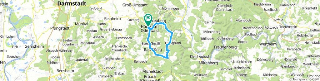 eine Odenwald-Sonntagsrunde