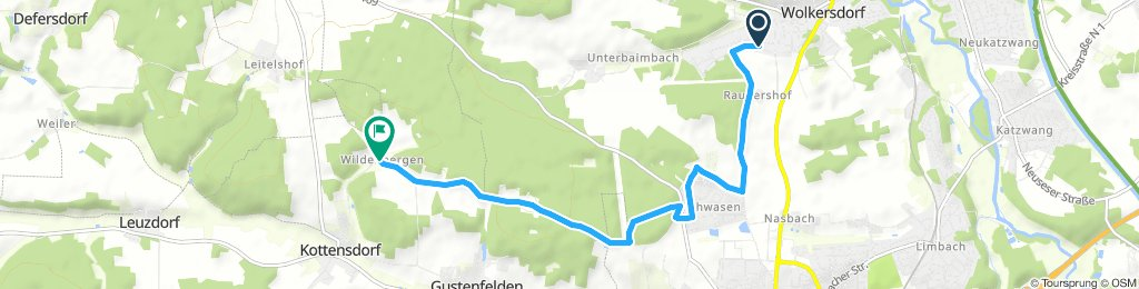 Long Sonntag Route In Schwabach