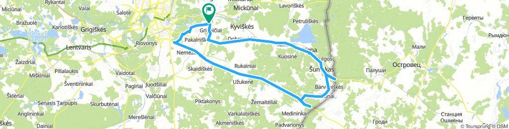 N.Vilnia-Šumskas-Medininkai-N.Vilnia