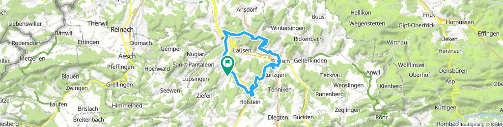 Extensive Dienstag Route In Bubendorf