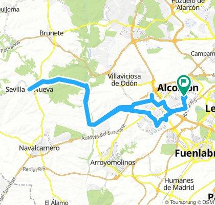 Alcorcón Sevilla la Nueva y vuelta