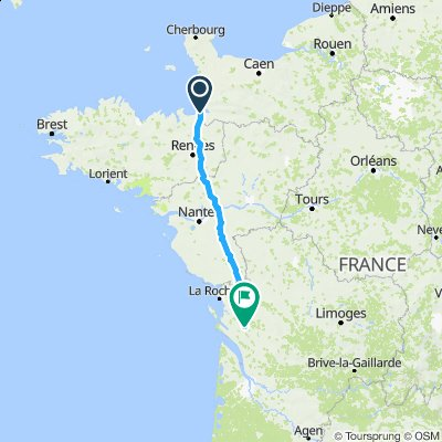 Tour De France 2016 Stage 1 188 Km Mont Saint Michel Utah Beach