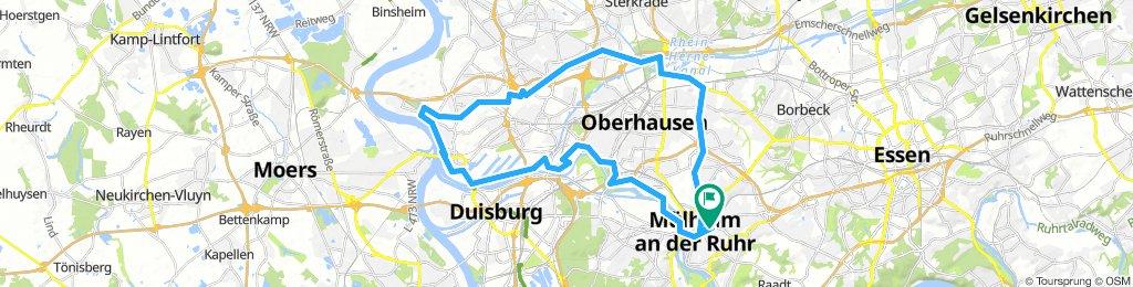 rundfahrt MH - DU - OB - MH