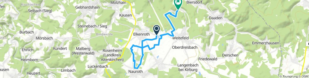Spred Out Dienstag Route In Elkenroth