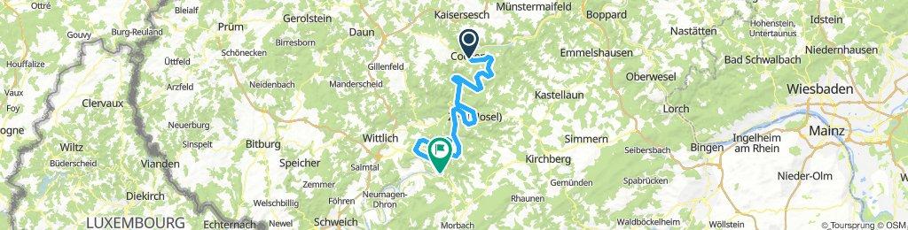 2018-3 Cochem nach Bernkastel Kues
