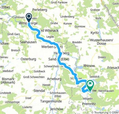 Wittenberge bis Rathenow mit Kindern