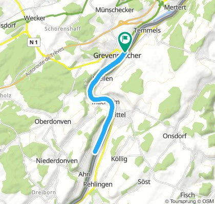 Moderate Tuesday Track In Grevenmacher