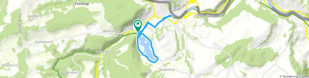 Spred Out Wednesday Route In Echternach