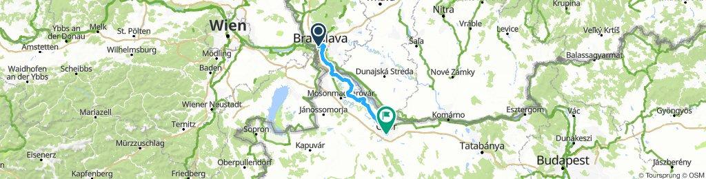 180813-Bratislava - Rajka - Györ
