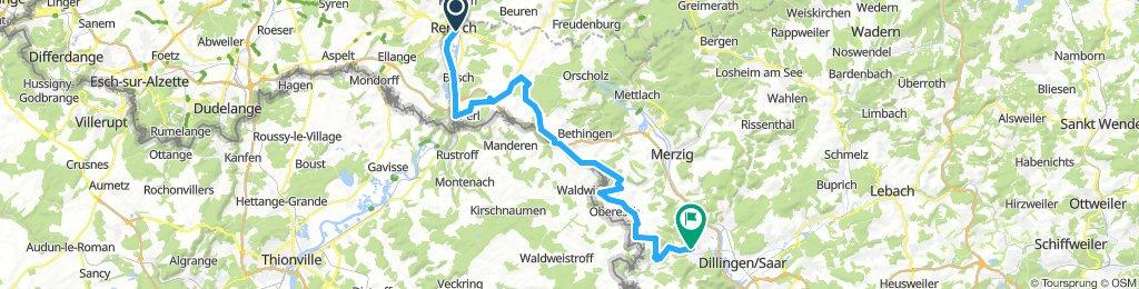 Saarland-Radweg 4.Etappe