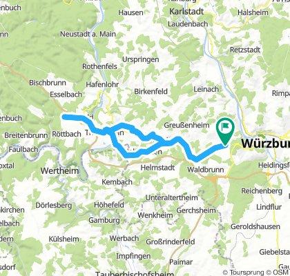Waldbüttelbrunn - Michelrieth - Waldbüttelbrunn