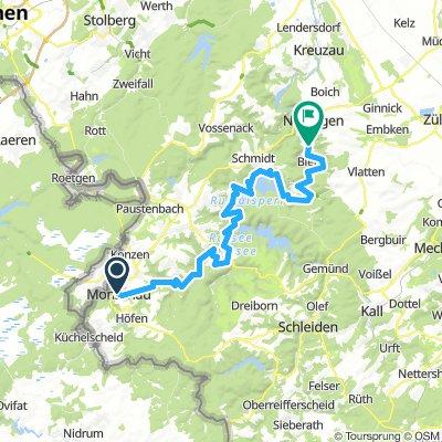 Rurradweg Monschau Duren Bikemap Deine Radrouten
