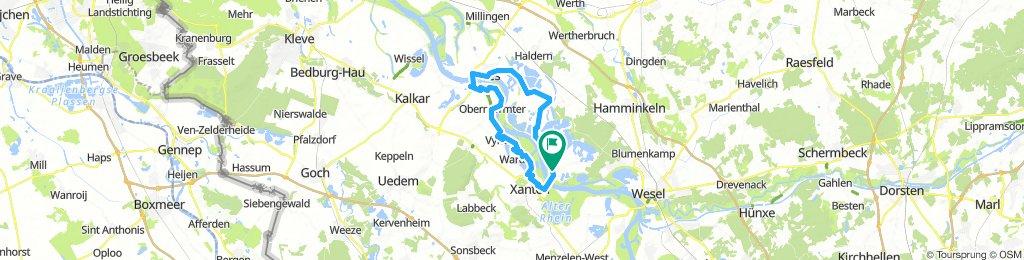 Bislich - Mehr - Rees - Xantener Seen