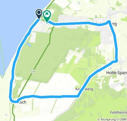 Snail-Like Mittwoch Ride In Cuxhaven