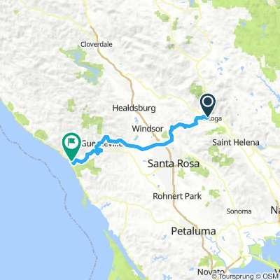 Cycling routes and bike maps in and around Calistoga ... on serramonte map, sonoma map, california map, angwin map, auberry map, hayfork map, lafayette map, cedar ridge map, hacienda map, dollar point map, st. augustine map, forestville map, burney map, brooktrails map, downieville map, napa map, san francisco wineries map, port costa map, chualar map, clayton map,