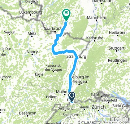 Basel Option 3 (331km)