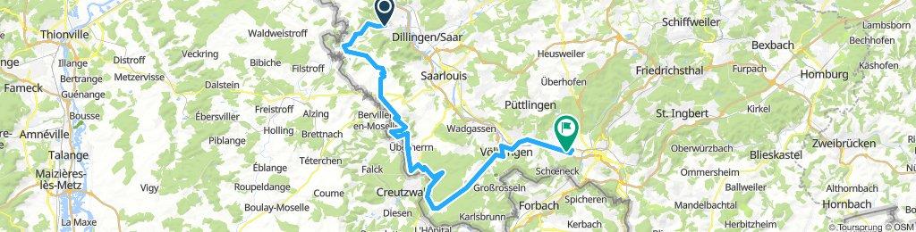 Saarland-Radweg 5.Etappe