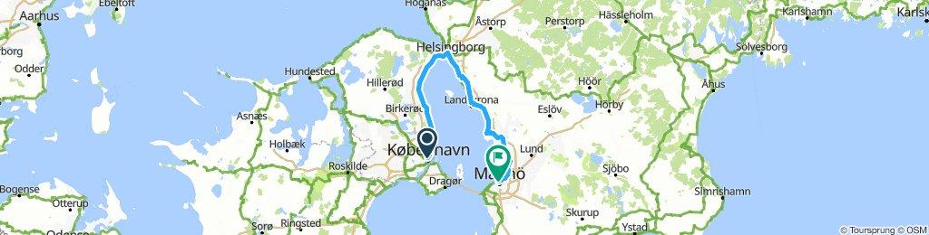 Copenhagen-Malmo
