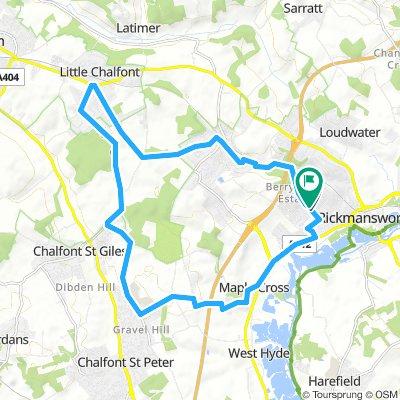 Ricky to Ricky: 45min Training Route