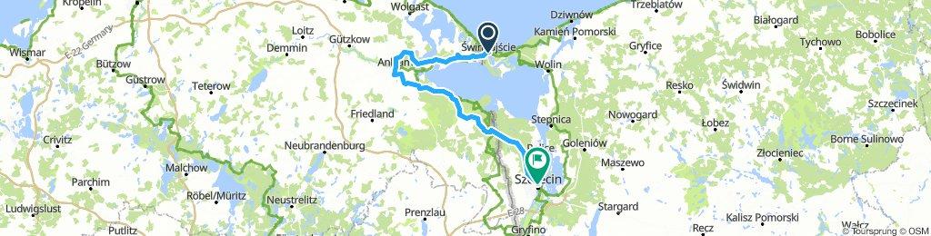 #DK2PL Swinoujscie to Szczecin