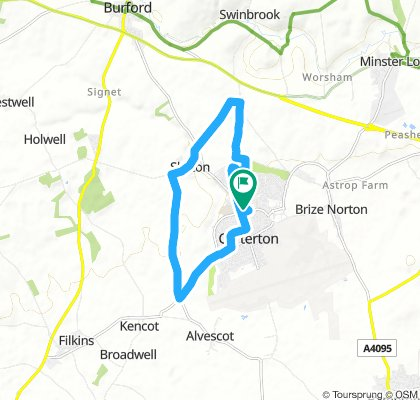 Slow Thursday Route In Carterton
