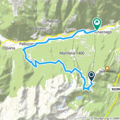 Trail Lago dei Caprioli