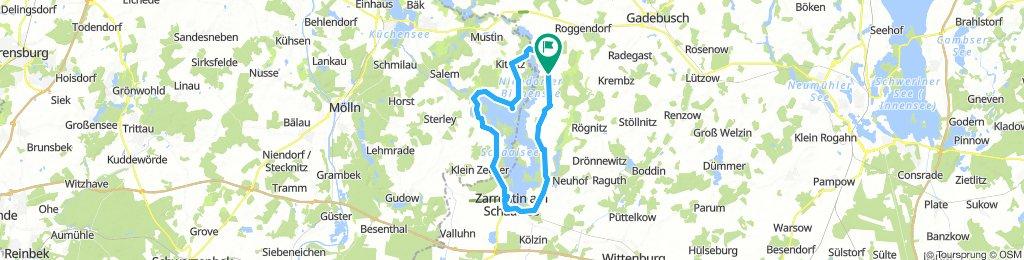 Rundkurs Schaalsee(Zarrentin)