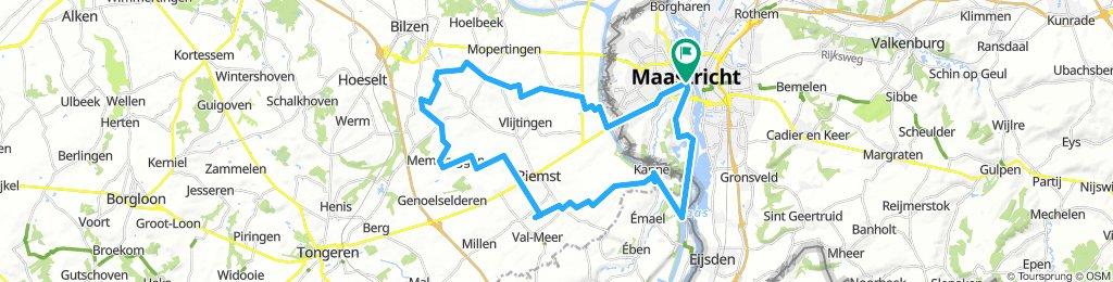 2018-08-23 Maastricht - Kesselt - Hees - Martenslinde - Rijkhoven - Membruggen - Zichen - Kanne - Lixhé - Maastricht